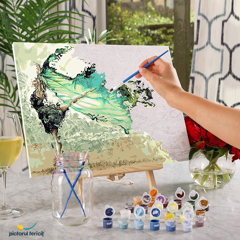 freedom pictura pe numere pictorul fericit
